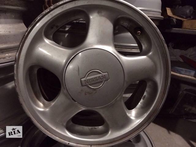 Б/у диск для легкового авто Nissan- объявление о продаже  в Львове