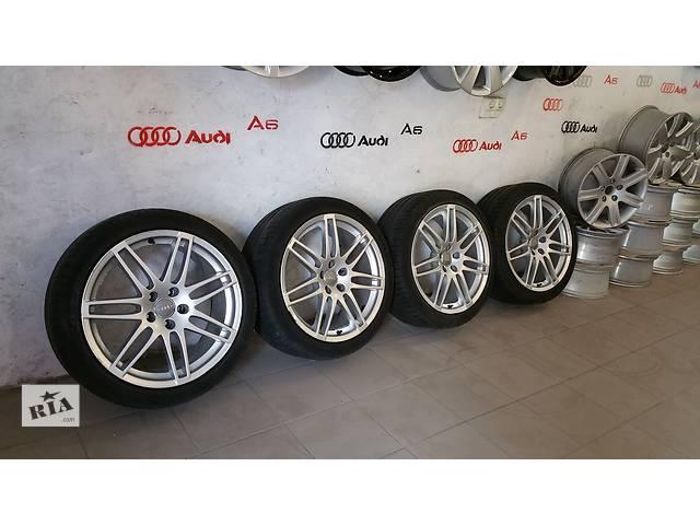 купить бу Б/у диск с шиной для легкового авто Audi A6 в Костополе