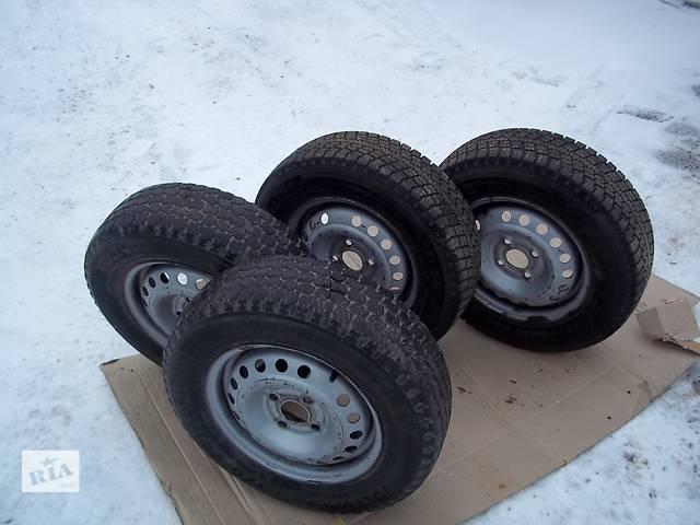 Б/у диск с шиной для легкового авто Daewoo Lanos- объявление о продаже  в Хмельницком