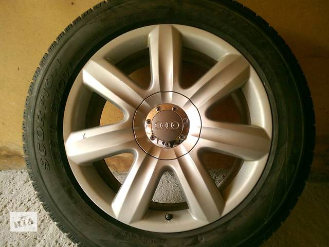 продам Б/у Диски R19 + зимняя резина Audi Q7, Volkswagen Touareg, porsche cayenne бу в Киеве