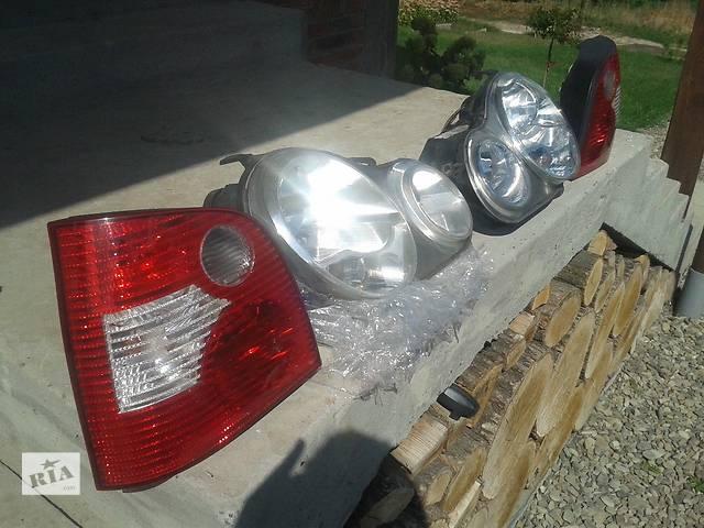 продам Б/у фонарь стоп для хэтчбека Volkswagen Polo 2002-2005р бу в Львове