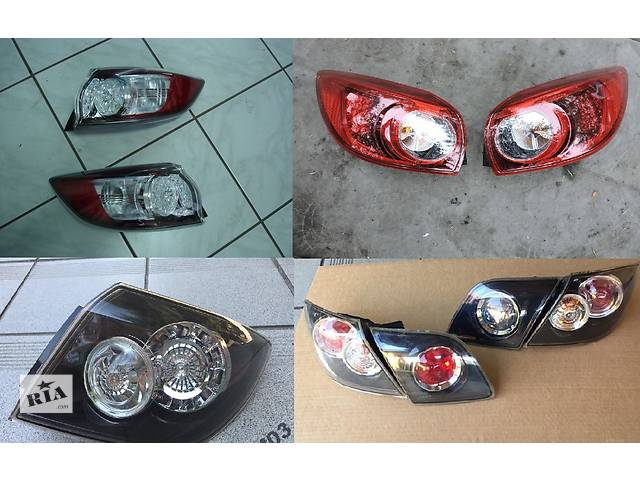 купить бу Б/у фонарь задний для легкового авто Mazda 3 в Львове