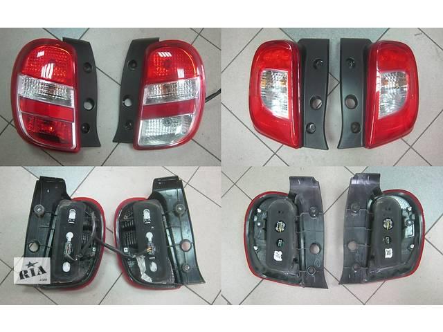 продам Б/у фонарь задний для легкового авто Nissan Micra k13 бу в Львове