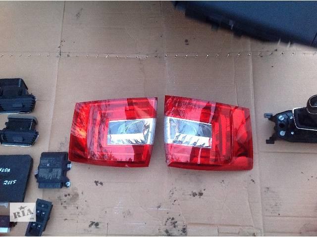 Б/у фонарь задний для легкового авто Skoda Octavia A7 2015- объявление о продаже  в Львове
