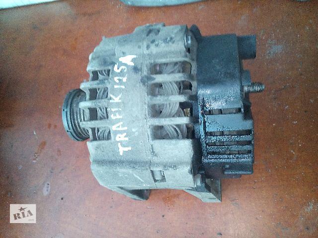 бу Б/у генератор/щетки для легкового авто Renault Trafic 1.9-2.5dci (125А) в Ковеле