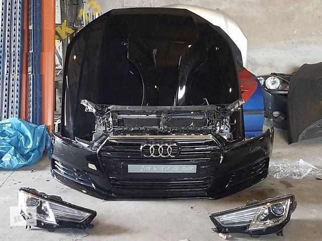 купить бу Б/у капот для легкового авто Audi A4 B9 в Львове