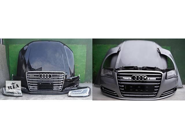 купить бу Б/у капот для легкового авто Audi A8 d4 в Львове