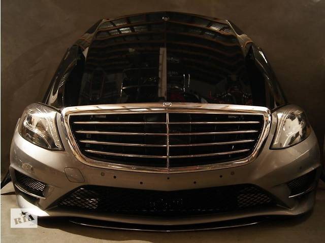 продам Б/у капот для легкового авто Mercedes S-Class w222 13- бу в Львове