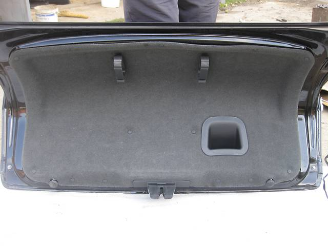 продам Б/у карта крышки багажника обшывка Opel Vectra C Вектра С бу в Львове