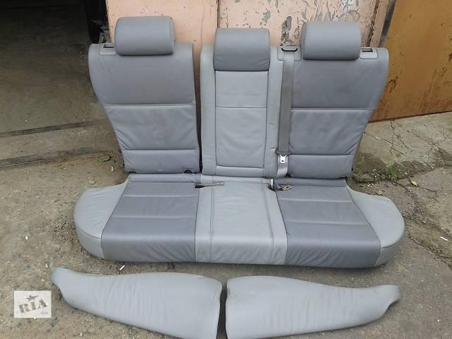 Б/у кожаные сиденье для кроссовера BMW X5- объявление о продаже  в Николаеве