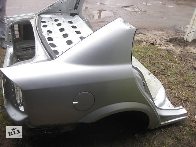 Б/у крыло заднее четверть часть авто крило задне Opel Vectra C Вектра С - объявление о продаже  в Львове