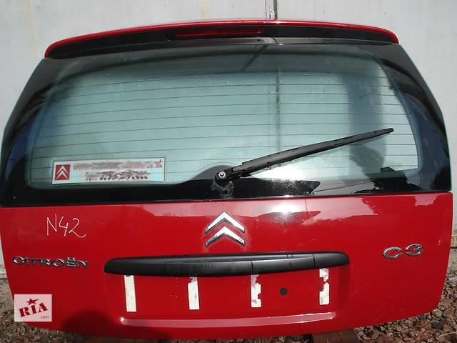 купить бу Б/у крышка багажника для легкового авто Citroen C3 в Киеве