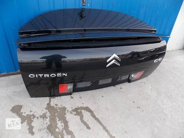 купить бу Б/у крышка багажника для легкового авто Citroen C6 в Львове
