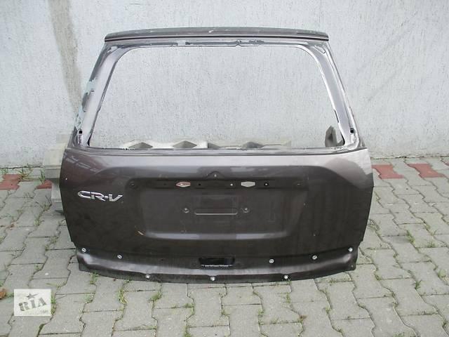 бу Б/у крышка багажника для легкового авто Honda CR-V iii в Львове