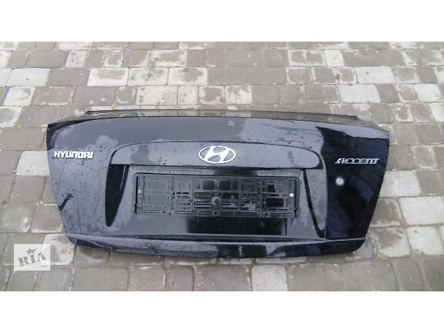 купить бу Б/у крышка багажника для легкового авто Hyundai Accent 2008 в Коломые