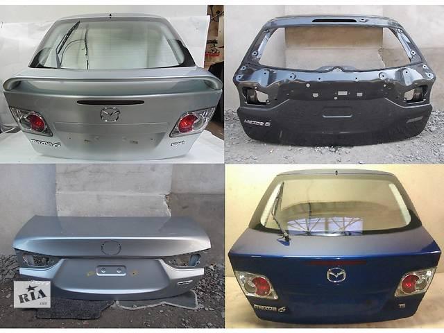 продам Б/у крышка багажника для легкового авто Mazda 6 бу в Львове