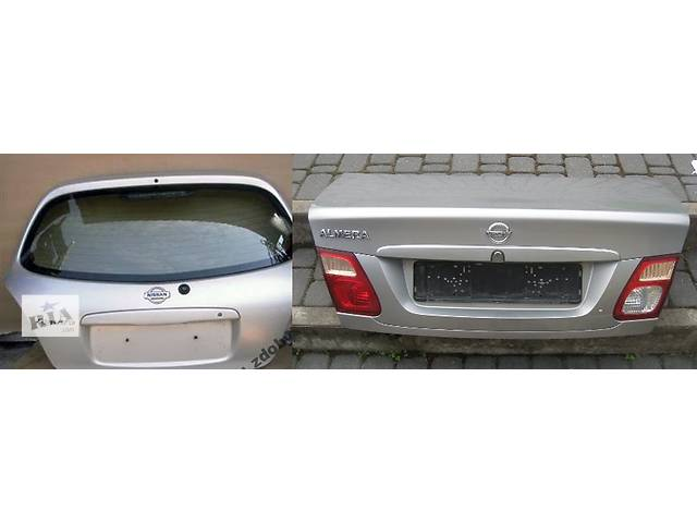 продам Б/у крышка багажника для легкового авто Nissan Almera n16 бу в Львове