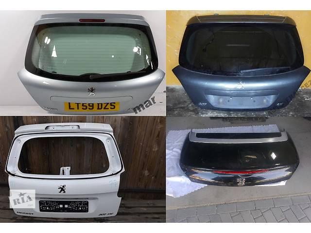 купить бу Б/у крышка багажника для легкового авто Peugeot 207 в Львове