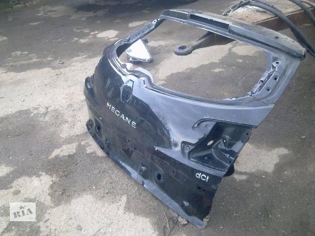 бу Б/у крышка багажника для легкового авто Renault Megane 2012 в Калуше