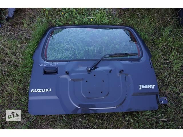 бу Б/у крышка багажника для легкового авто Suzuki Jimny в Львове