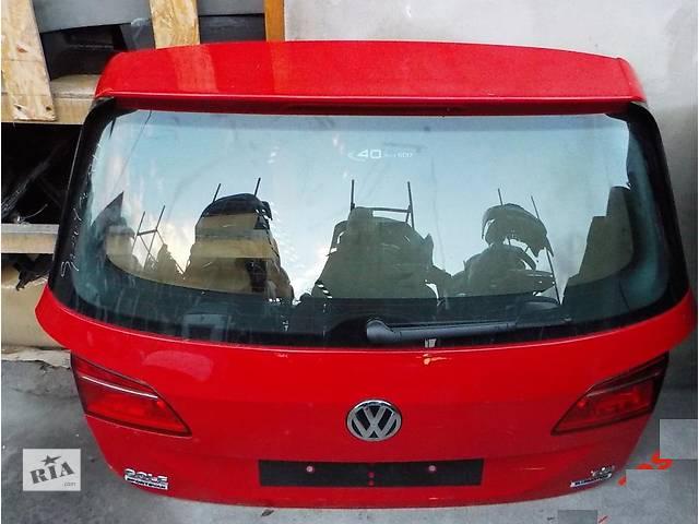 продам Б/у крышка багажника для легкового авто Volkswagen Golf VII Plus бу в Львове