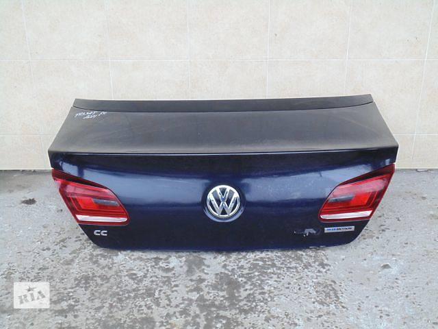 бу Б/у крышка багажника для легкового авто Volkswagen Passat CC в Львове