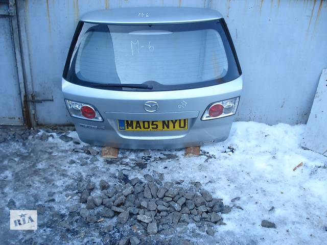 купить бу Б/у крышка багажника для универсала Mazda 6 в Киеве