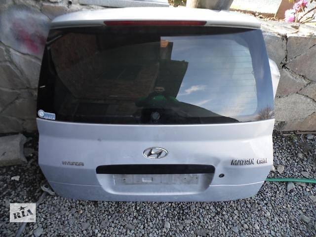 продам Б/у крышка багажника Hyundai Matrix бу в Киеве