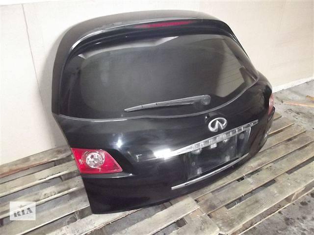 продам Б/у Крышка багажника Infiniti FX 35 бу в Киеве