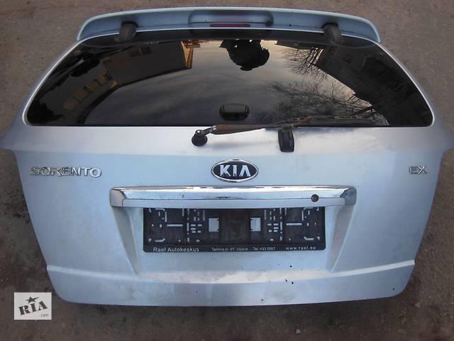 бу Б/у крышка багажника  Kia Sorento в Киеве