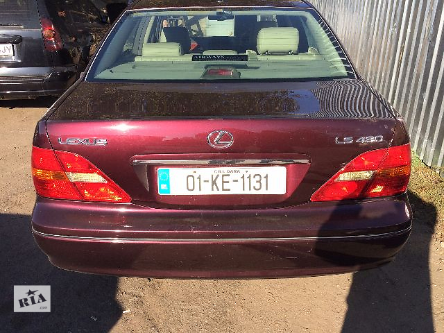 продам Б/у крышка багажника Lexus LS430 2002   бу в Одессе
