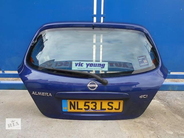 Б/у крышка багажника Nissan Almera Hatchback (5d)- объявление о продаже  в Киеве