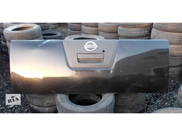 Б/у крышка багажника  Nissan Navara- объявление о продаже  в Киеве