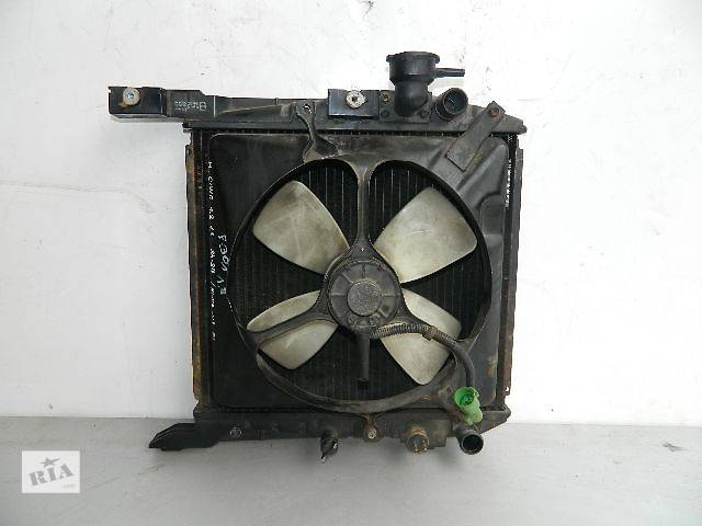 бу Б/у радиатор для легкового авто Rover 213 (410-350) по сотым. в Буче (Киевской обл.)