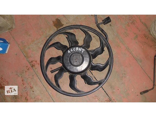 продам Б/у вентилятор радиатора для легкового авто Hyundai Accent 2007 бу в Коломые