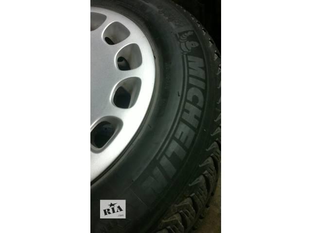 Б/зимові колеса R15.205.65,MICHELIN ALPIN,BMW.FIAT DUKATO.- объявление о продаже  в Самборе