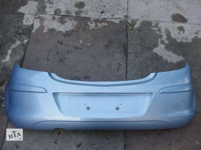купить бу б/у Детали кузова Бампер задний -497 - Opel Corsa 3d В НАЛИЧИИ!!!! в Львове