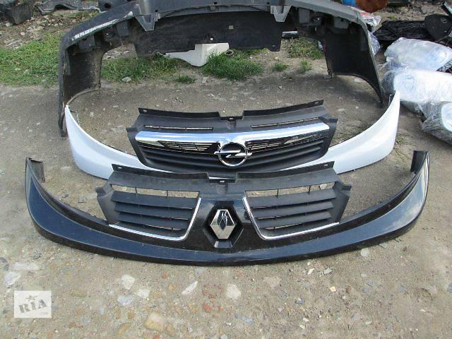 бу Решітка радіатора Opel Vivaro 2007 в Ковелі