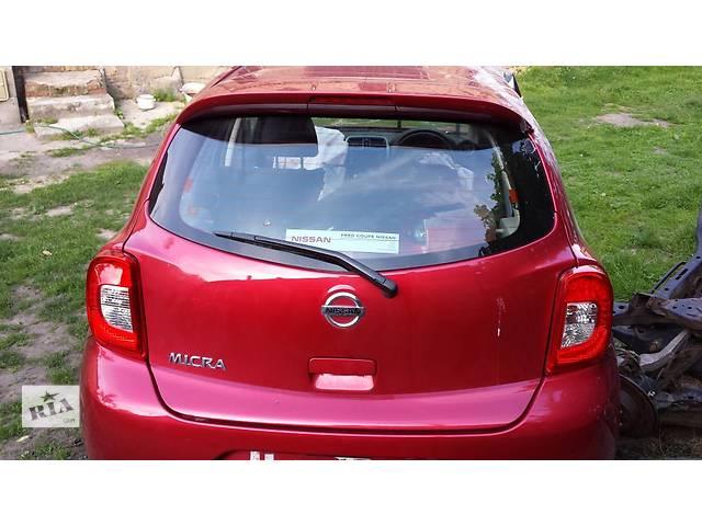 продам б/у Двери/багажник и компоненты Крышка багажника Nissan Micra бу в Одессе