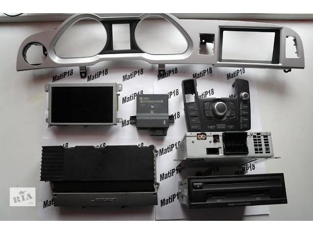 продам Б/у GPS навигатор Audi A6 C6 Nawigacja  MMI 3G бу в Львове