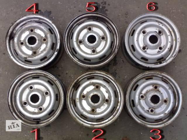 Б/у Колеса и шины Диск Диск металический 14 Легковой Renault Trafic груз.- объявление о продаже  в Сумах