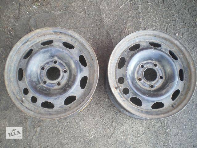 купить бу б/у Колеса и шины Диск Диск металический 15 33 5x112 Легковой Opel Omega B в Умани