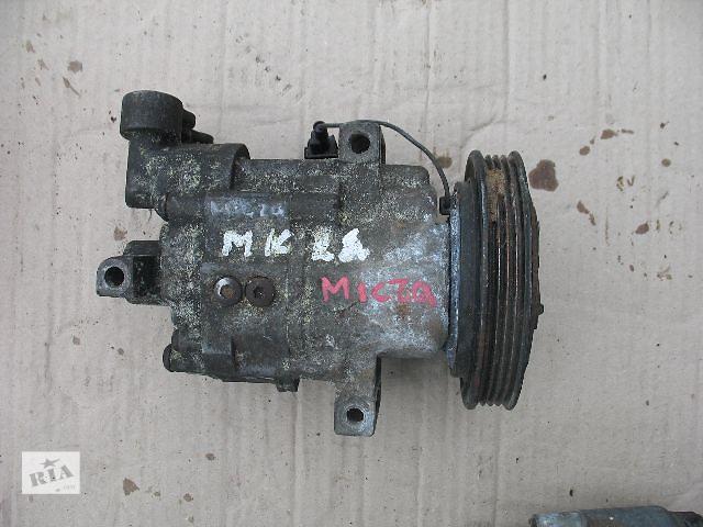 купить бу Б/у компрессор кондиционера для легкового авто Nissan Micra 2006 в Луцке