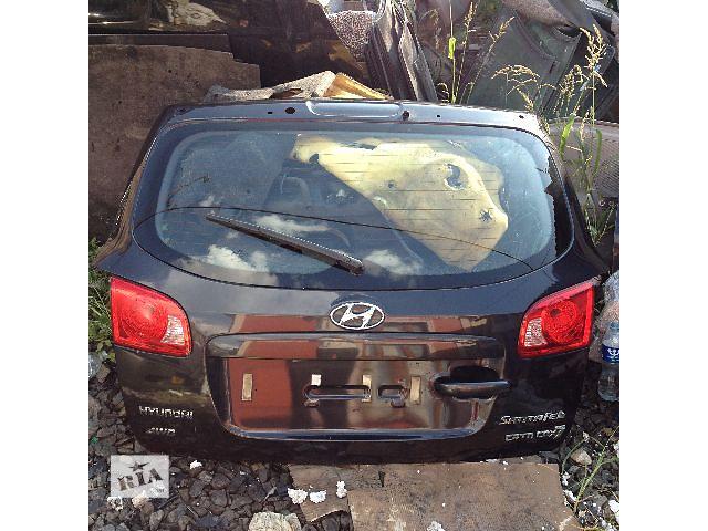 продам Б/у крышка багажника для легкового авто Hyundai Santa FE 2008 бу в Авдеевке (Донецкой обл.)