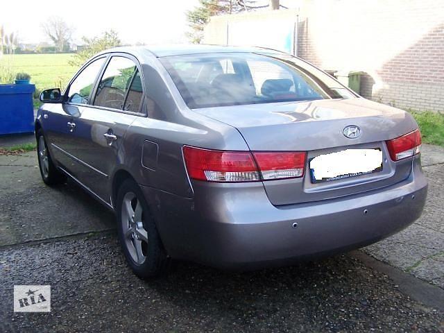 продам Б/у крышка багажника для легкового авто Hyundai Sonata 2007 бу в Дубраве (Житомирской обл.)