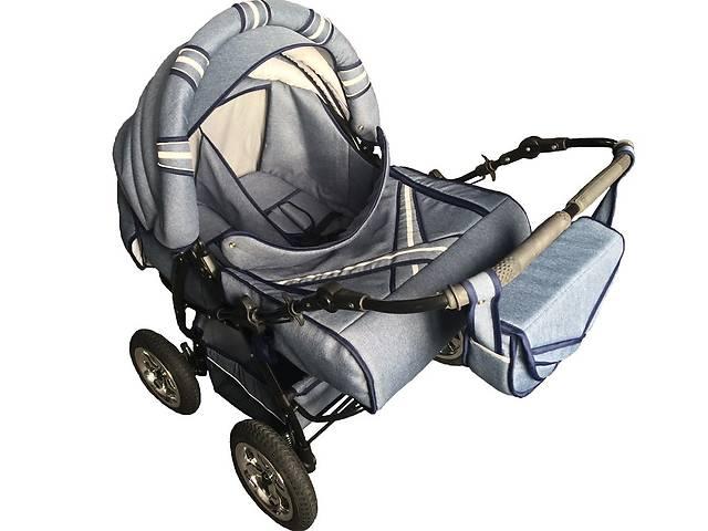 продам Детская коляска-трансформер для двойни Trans baby Taurus Duo Jeans бу в Львове