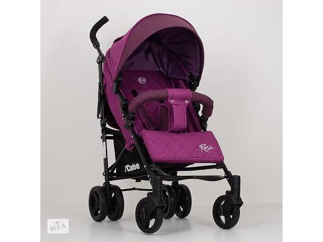 Детская коляска-трость El Camino RUSH ME 1013L лен (фиолетовая)- объявление о продаже  в Одессе