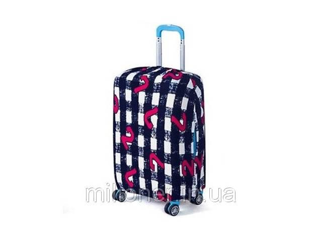Чехол для чемодана Bonro средний L черно-белый- объявление о продаже  в Киеве