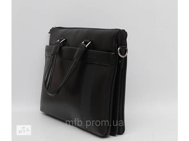 Мужской кожаный (кожа искусственная) портфель / сумка с отделом под ноутбук Gorangd- объявление о продаже  в Дубно
