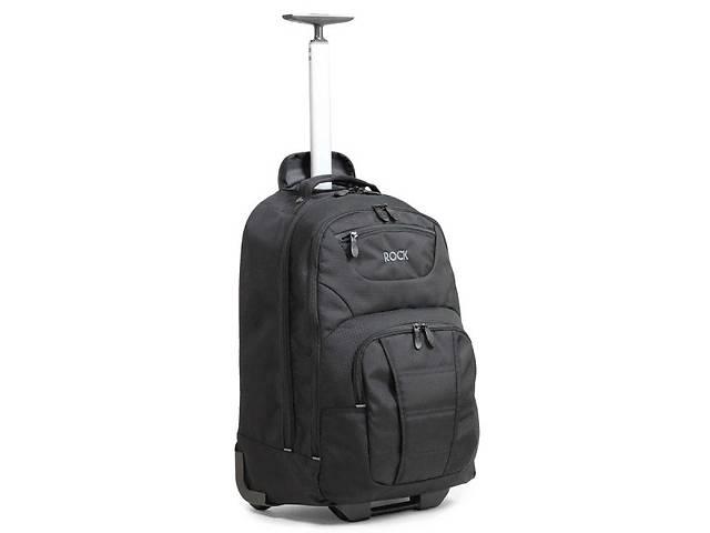 бу Сумка-рюкзак на колесах Rock Carbon Laptop 41 Black в Одессе